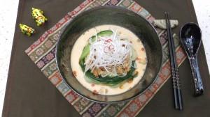冷やしミルク坦々麺2